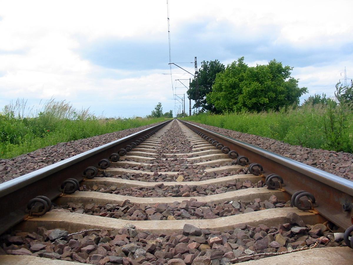 В Харькове машинист поезда пережил сильный стресс
