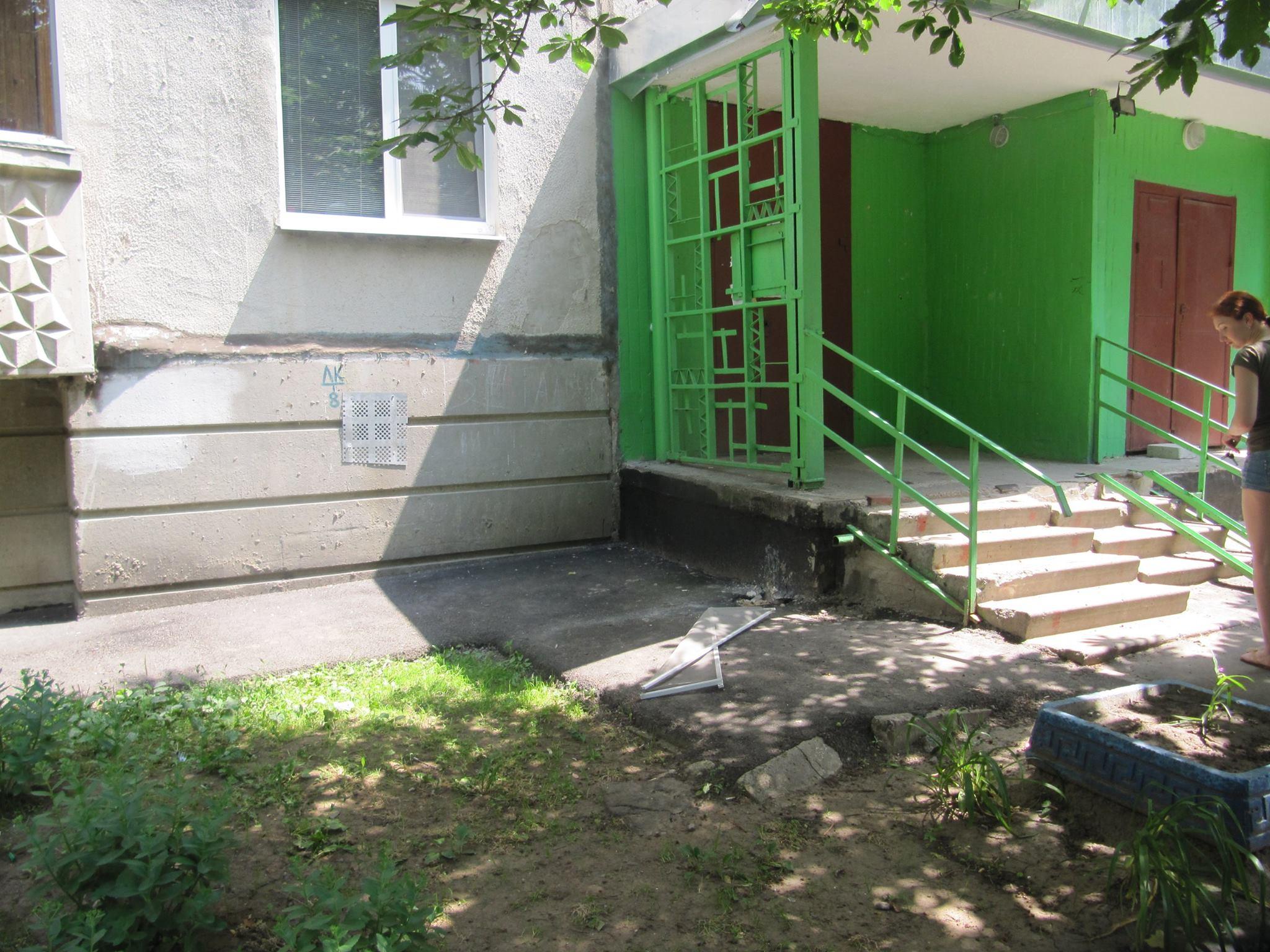 Пенсионерка сильно покалечила девочку в Харькове (фото)