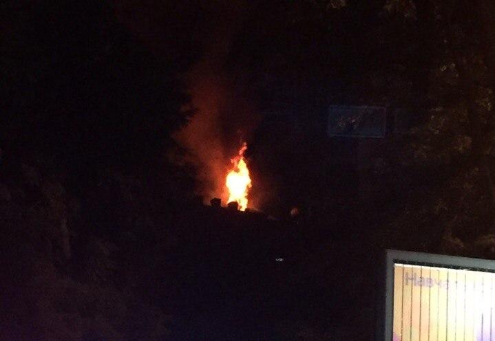 Часть харьковчан провела бессонную ночь на улице (фото)
