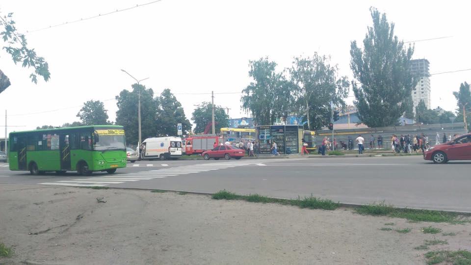 Трагедия в Харькове. Погиб молодой человек (фото)