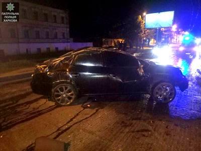 Вечернее происшествие в Харькове. Пострадал мужчина (фото)