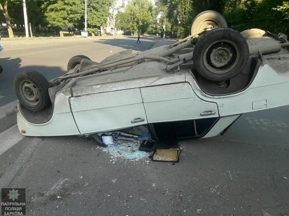 Голливудское происшествие в Харькове. Пострадали несколько человек (фото, видео)