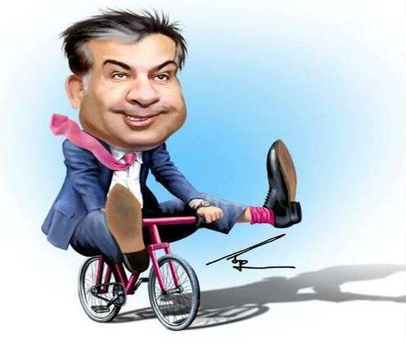 Саакашвили, которому ужасно повезло