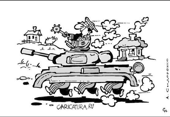 В Харькове делают неправильные танки