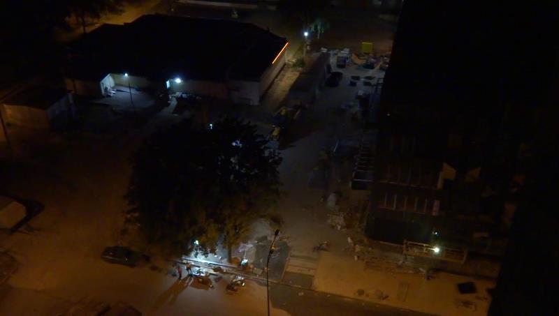 Строительство центра админуслуг в Харькове. Людям не дают выспаться (фото, видео)