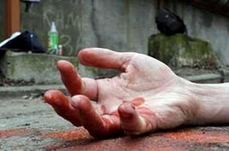 В Харькове преступник, измазанный кровью, поехал кататься по городу