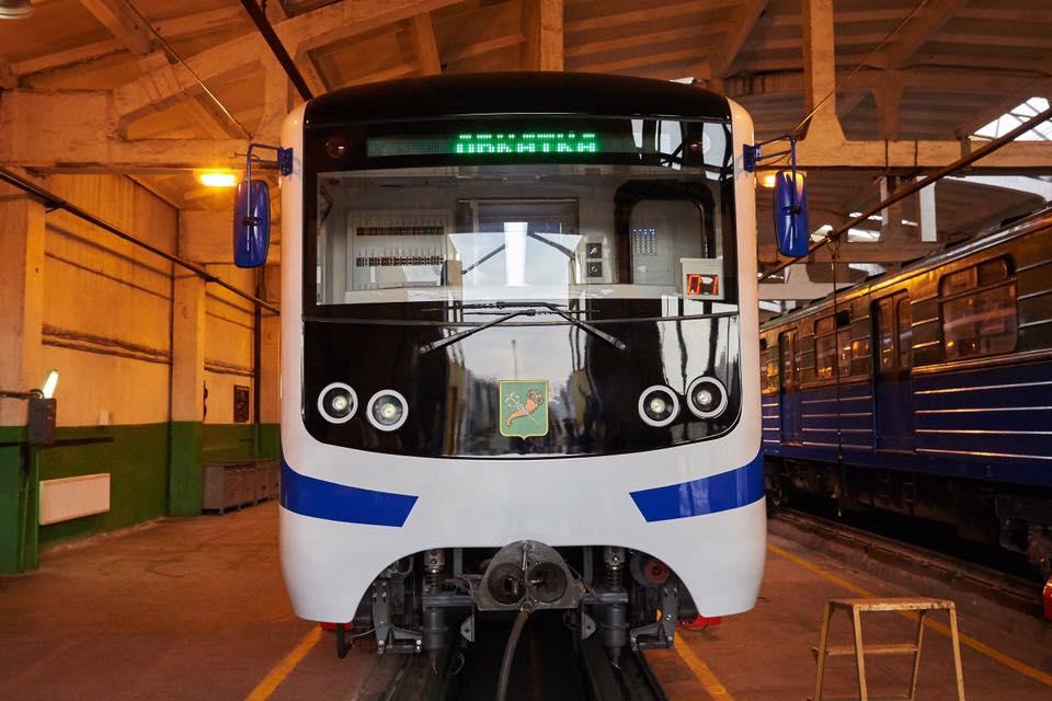 Новый поезд появился в харьковском метро