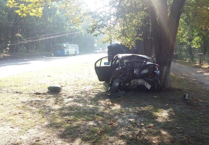 Стало известно, кто был за рулем иномарки, которая попала в ДТП на Павловом Поле (фото)