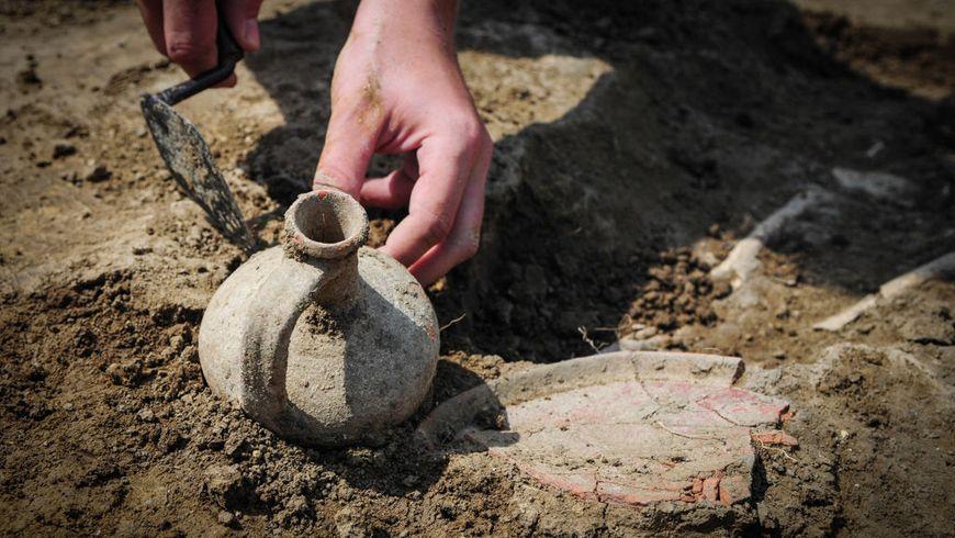 Древний храм раскопали под Харьковом