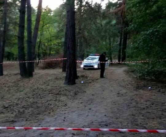 В посадке на окраине Харькова открыли стрельбу