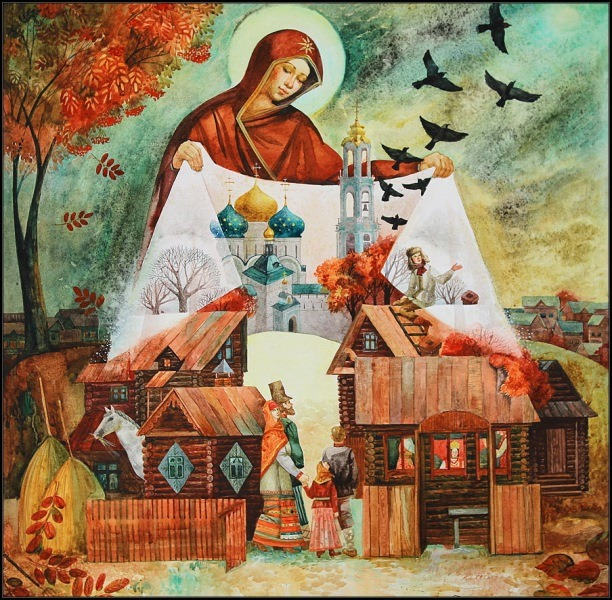 Храмы Харьковщины, которые оберегает чудесное покрывало (фото)