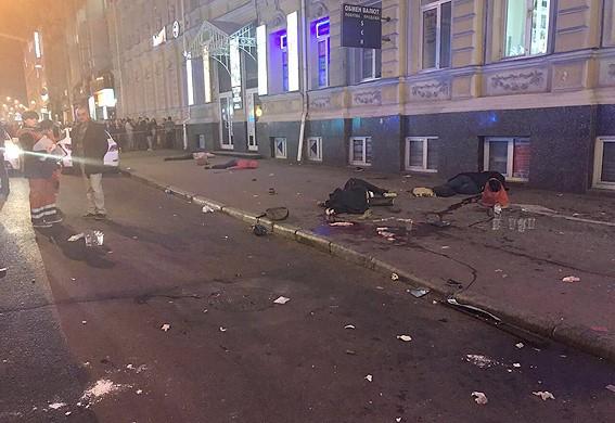 Стало известно, какие травмы получили пострадавшие в жуткой аварии в центре Харькова