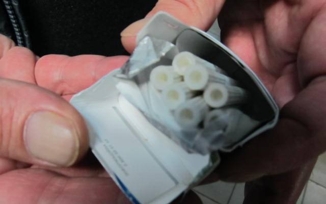 Странную коробочку обнаружили у путешественников из Харькова (фото)