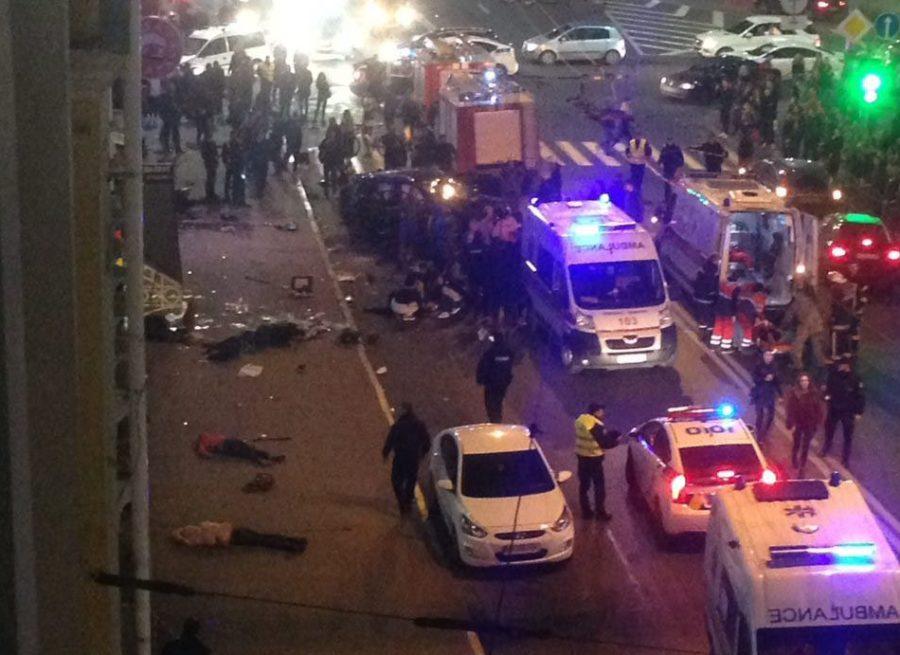 Зайцевы перечислили пострадавшим в смертельной аварии в Харькове большую сумму