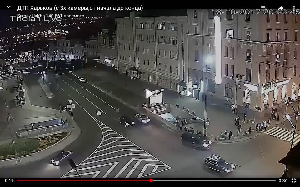 Харьковчанин провел эксперимент на перекрестке, где произошло жуткое ДТП (видео)