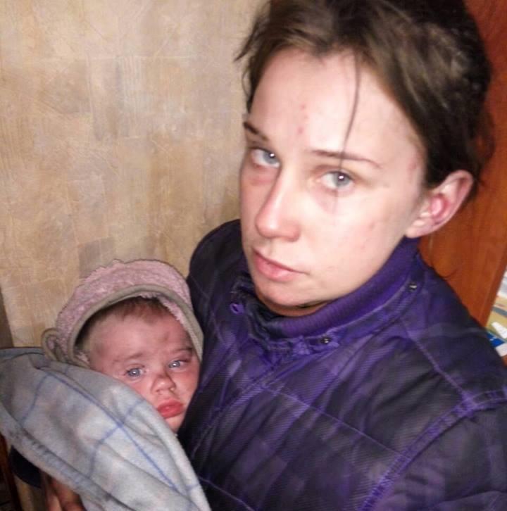 Харьковчанка, которая с ребенком жила в лесу: За попытки бегства меня нещадно избивали