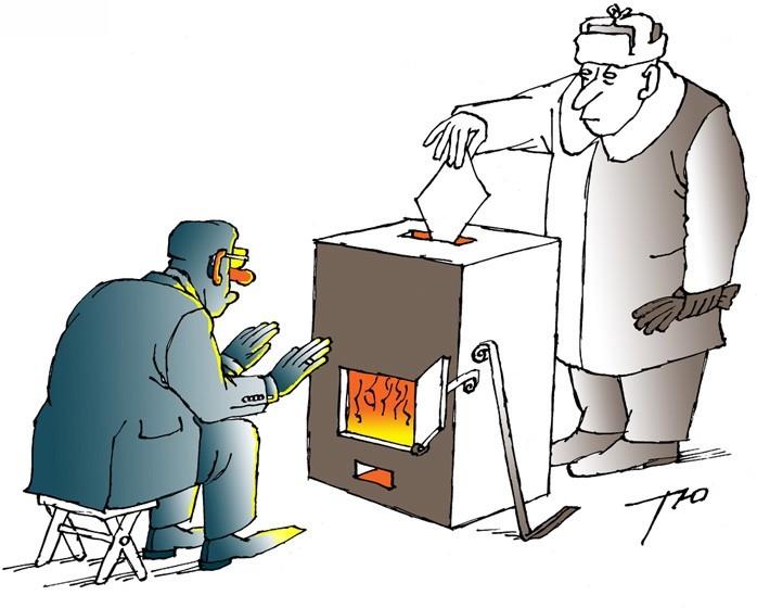 Репетиция президентских выборов по-харьковски
