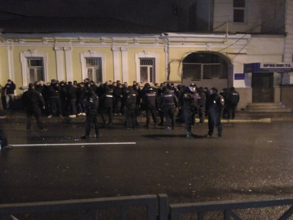 Всех участников массовой драки в центре Харькова отпустили