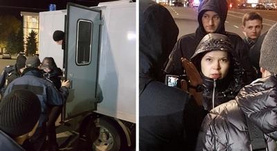 Алена Зайцева, автомобиль которой убил шестерых в Харькове, вернулась на место жуткой аварии (фото)