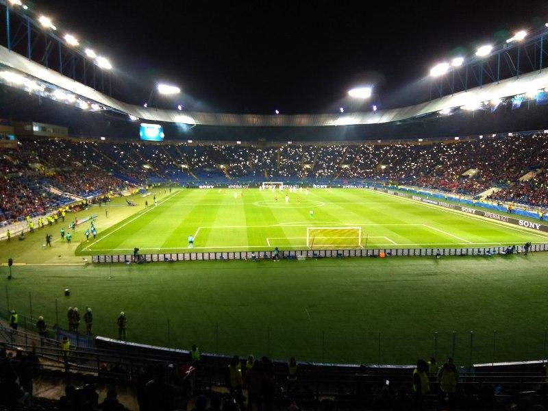 Фанаты начудили на главном стадионе Харькова