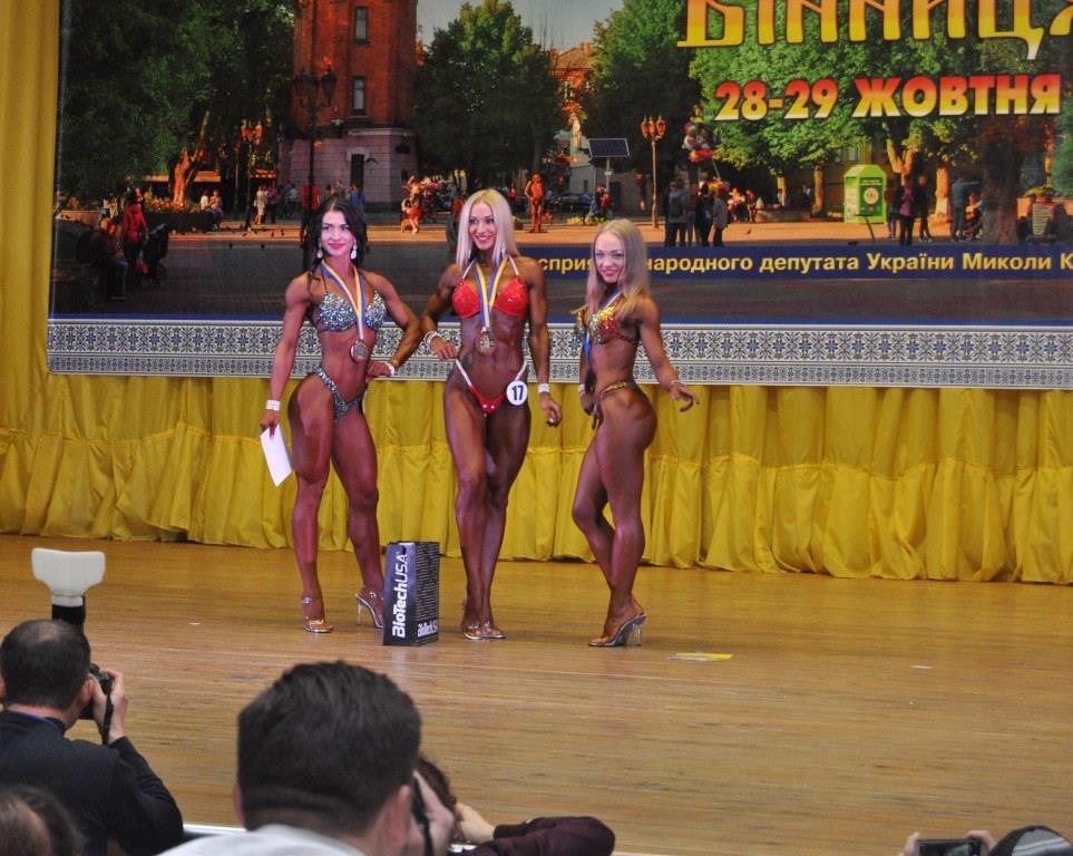Харьковчане победили в соревнованиях на самое красивое тело