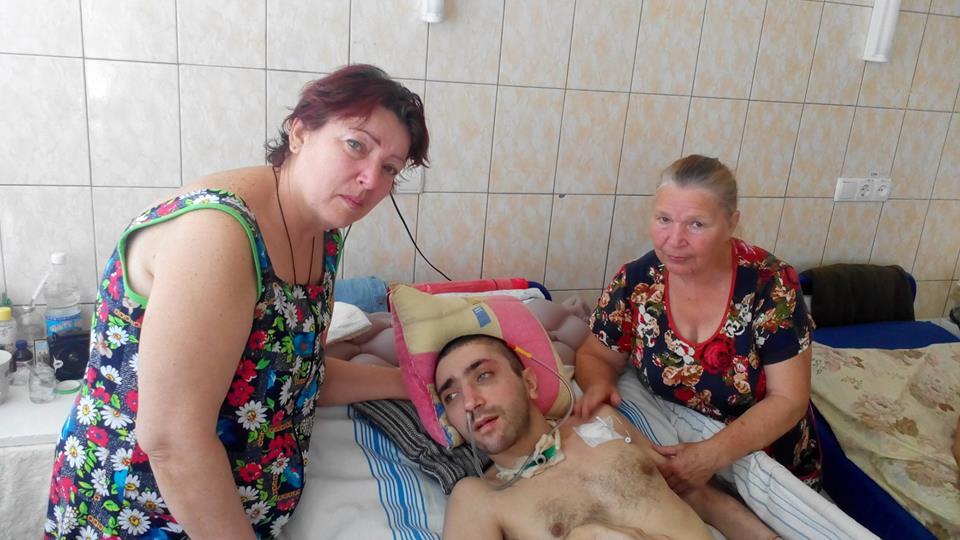 Вторая жертва харьковской банды изуверов порадовал родню (видео)