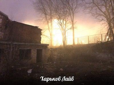 Крупный пожар произошел в центре Харькова (фото)