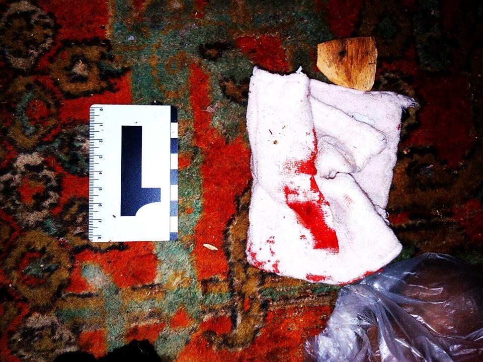 Мужчина устроил кровавые разборки на Харьковщине (фото)