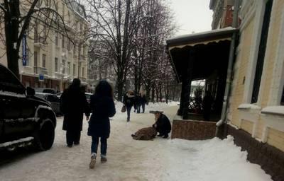 Возле харьковского ресторана нашли мертвого мужчину (фото)