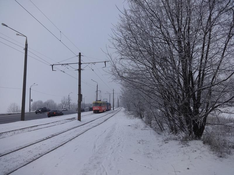 Рано утром люди не узнали окрестности в нескольких районах Харькова (фото)