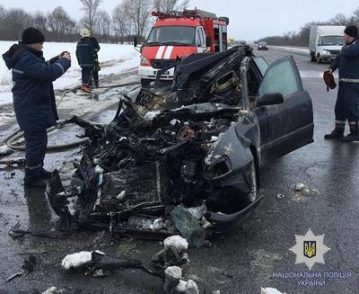 Страшная авария под Харьковом. Много погибших (фото)