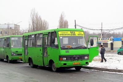 В Харькове напали на водителя маршрутки