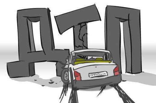 Авария в Харькове. Машины вынесло с дороги (фото)