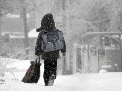 Снег будет идти в Харькове