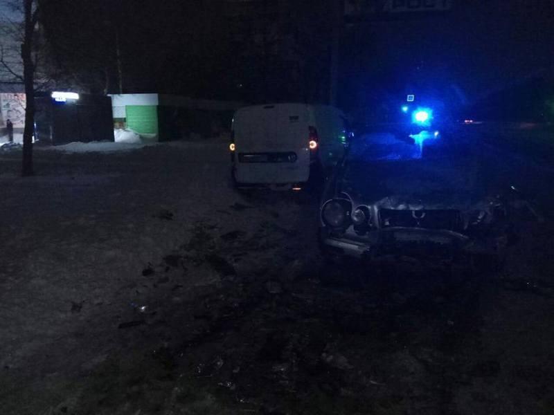 Три человека угодили в ночную переделку  в Харькове (фото)