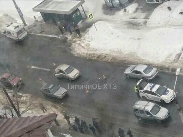 Авария в Харькове. Пострадал ребенок (фото)