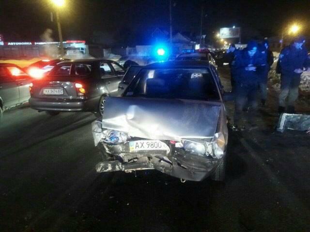 Погоня в Харькове. Появилось видео момента задержания пьяного водителя