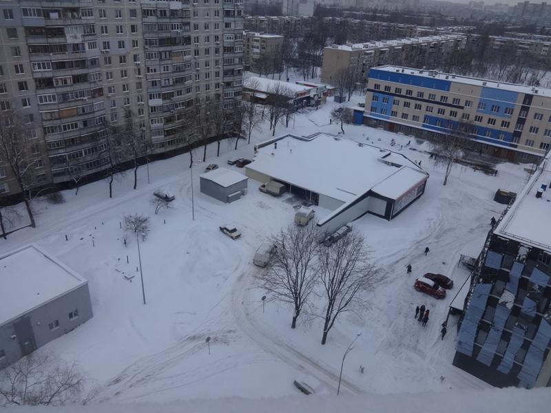 Снегопад в Харькове. Неунывающие горожане поделились курьезами (фото)