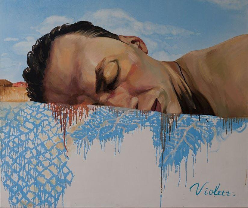 Харьковские художницы распродают картины из-за коммунальных проблем