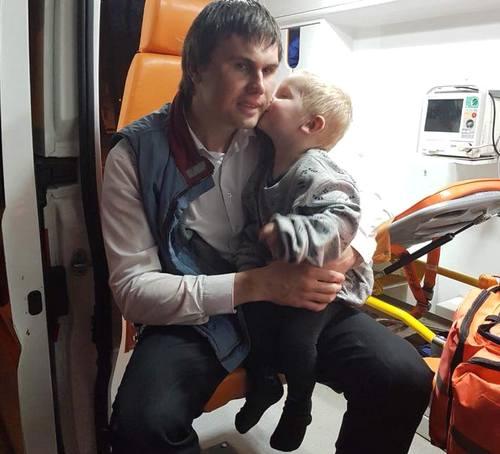 Харьковчанин, спасший из огня ребенка: В этой семье уже была трагедия