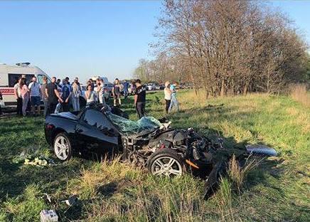 Стало известно, как вел себя на дороге блогер, погибший в страшной аварии под Харьковом (видео, дополнено)
