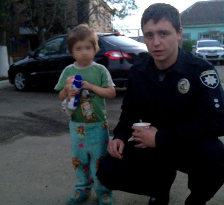 Ребенок нашел спасение в магазине под Харьковом