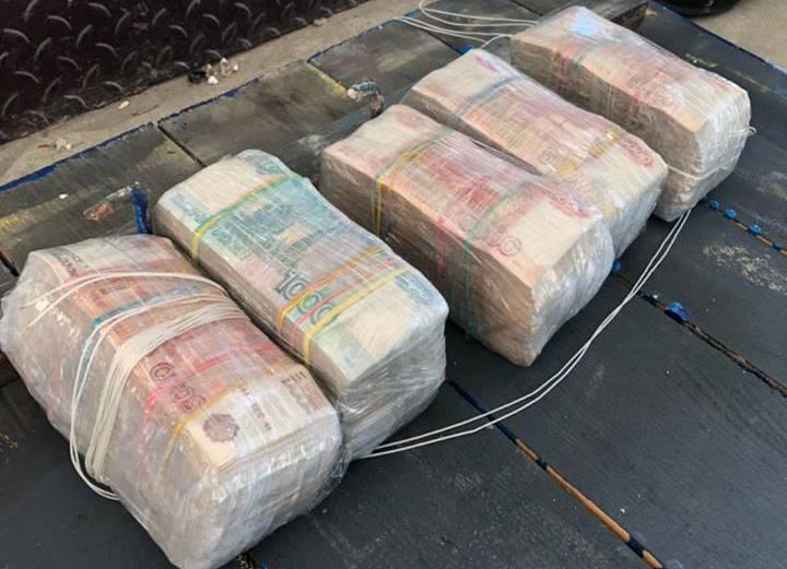 Тайник с огромной суммой нашли под Харьковом (фото)