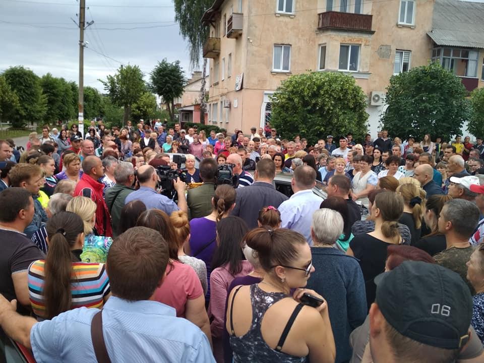 Смерть активиста. Жители поселка под Харьковом устроили восстание