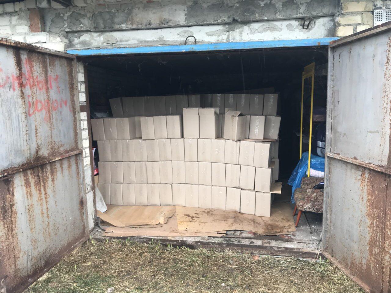 В одном из гаражей Харькова нашли миллионный клад (фото)