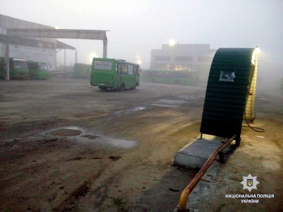 Водителю маршрутки размозжили голову под Харьковом (фото)