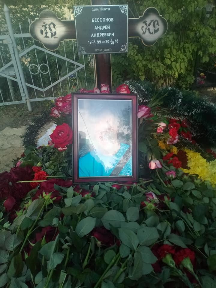 В Харькове похоронили известного мотоциклиста (фото, видео)