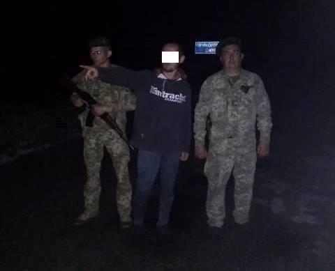 Под Харьковом ночного путника пришлось ловить специальным устройством