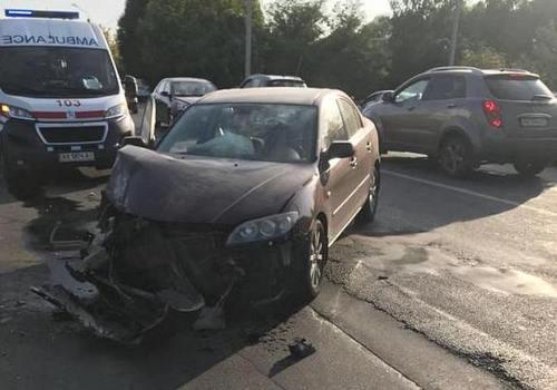 Страшная авария в Харькове: появилось видео