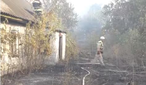 Крупный пожар в Харьковской области. Появилась новая информация (фото)